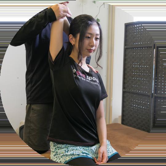 骨盤矯正・姿勢改善で根本的改善
