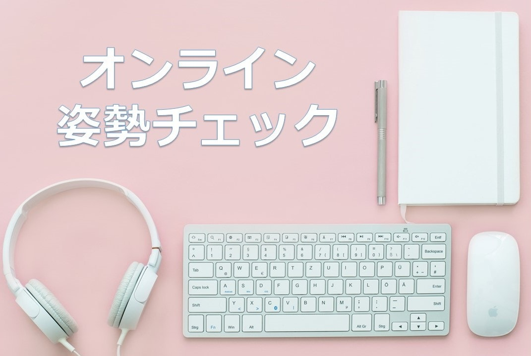 滋賀の整体院HOPE-オンライン姿勢チェック